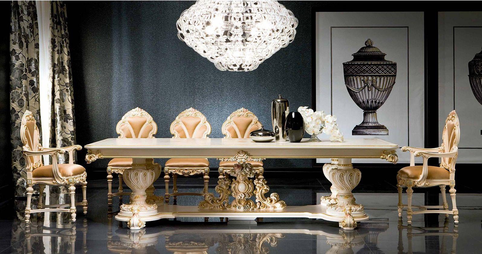 luxus-möbel - luxus esszimmer serie silik fidiadie möbel aus italien