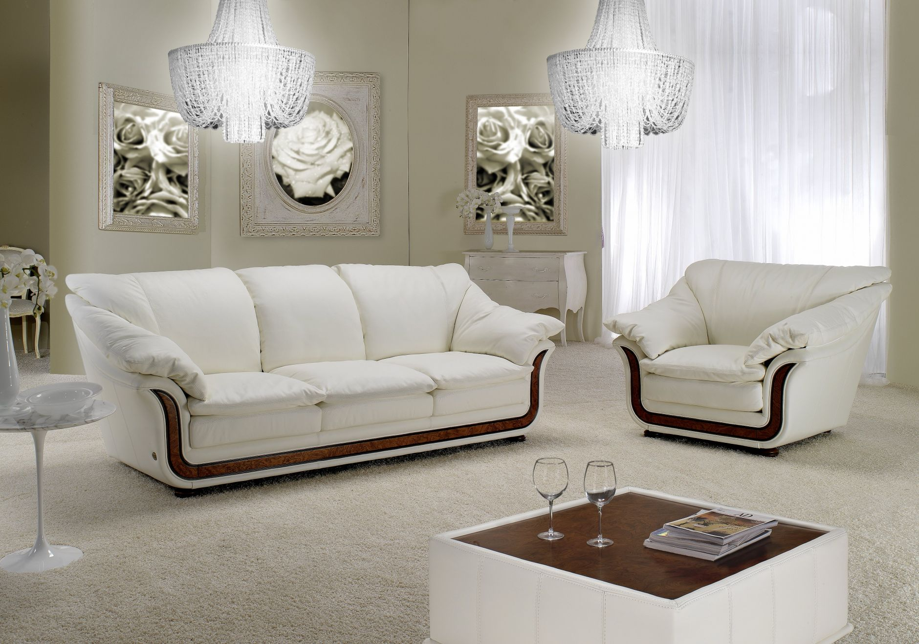 VIP-sofas - VIP-Sofas Nieri Divani CORNICHE ModellDie Möbel aus Italien