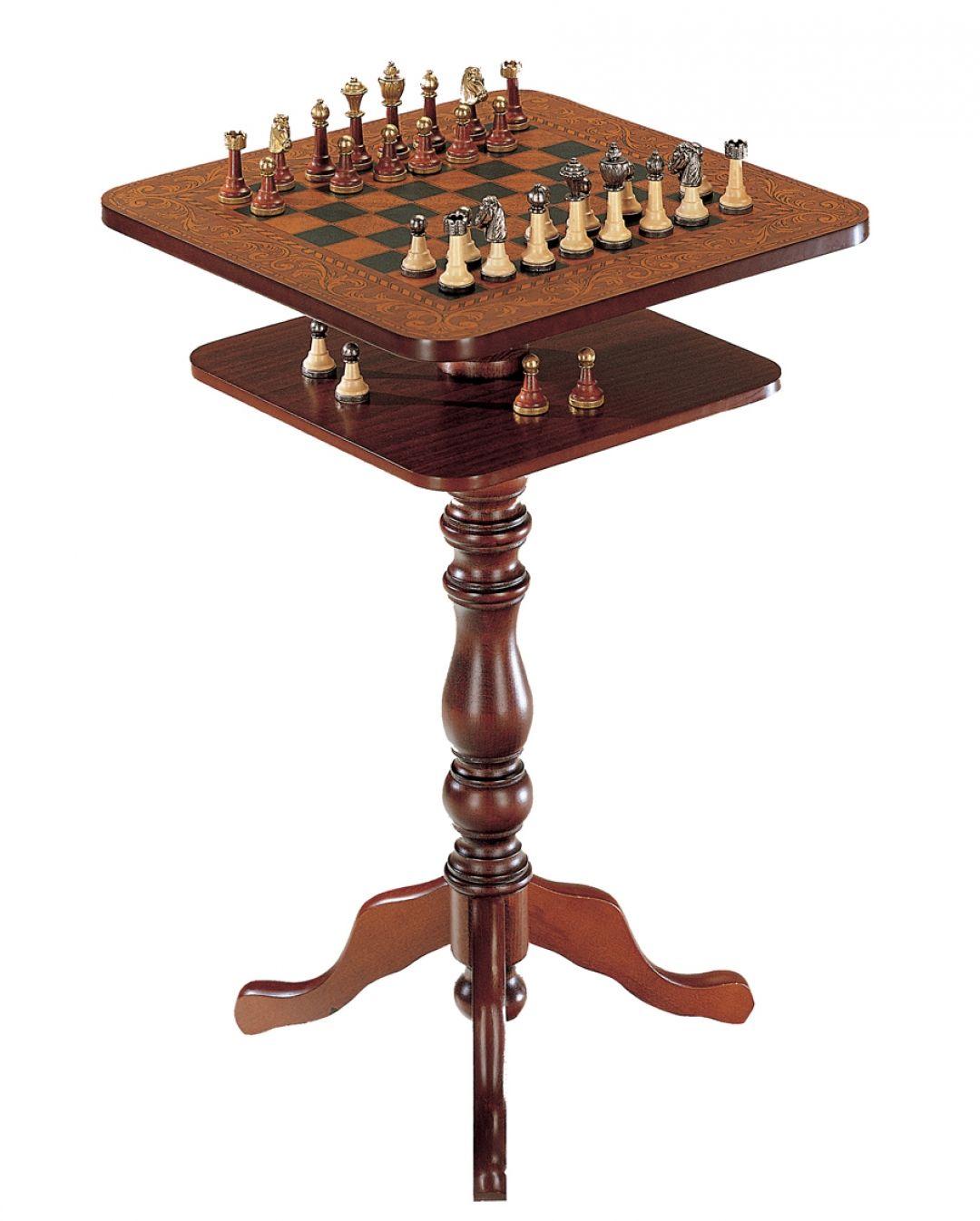 quadratischer tisch schachdie m bel aus italien. Black Bedroom Furniture Sets. Home Design Ideas