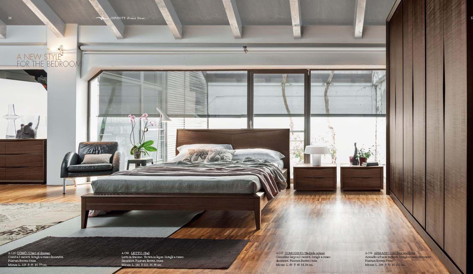 BEDROOMS - Bedroom Accademia del Mobile INFINITY SeriesFurniture ...
