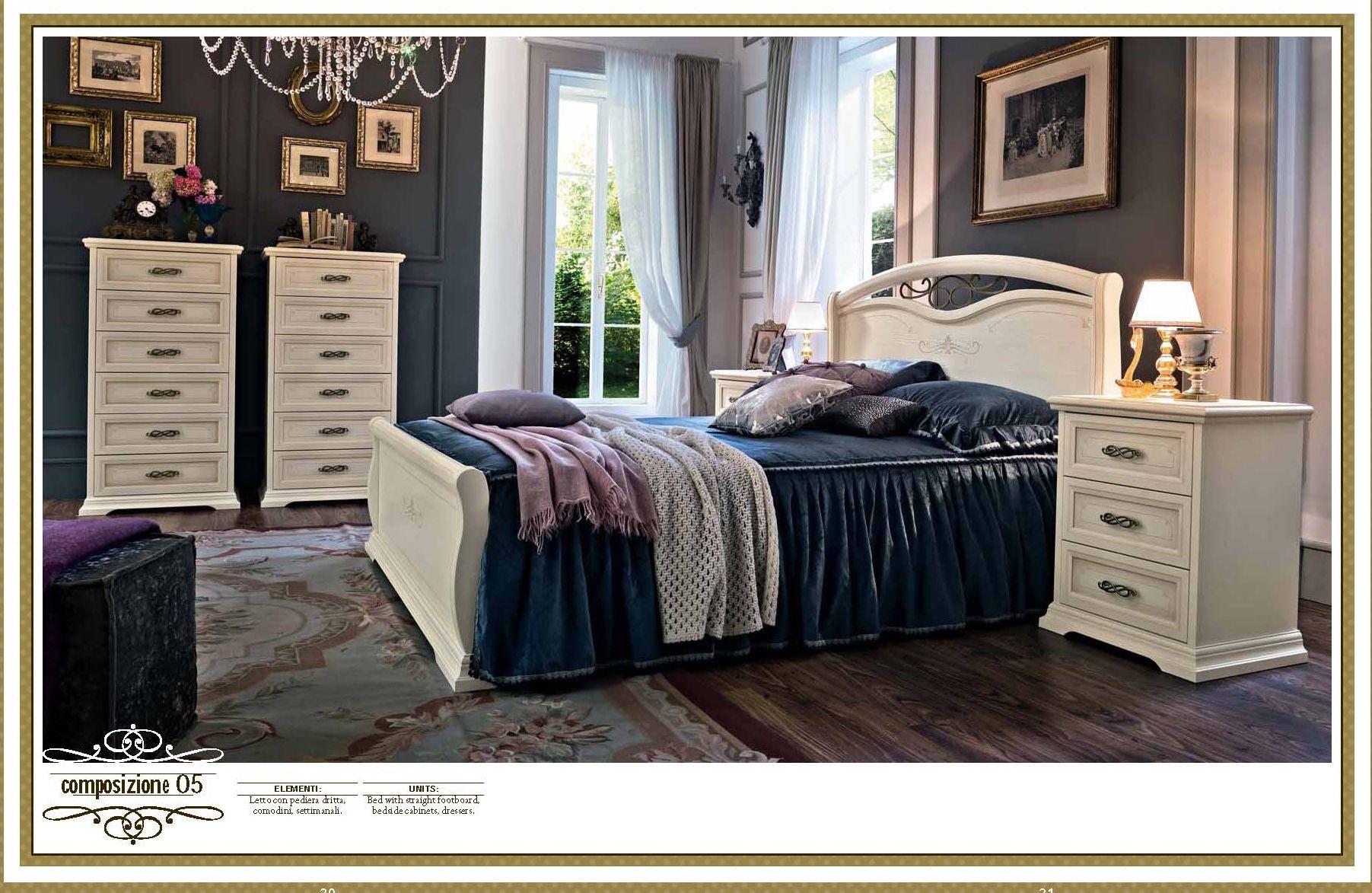 Klassische Möbel - Schlafzimmer ACF Serie AFRODITA ...