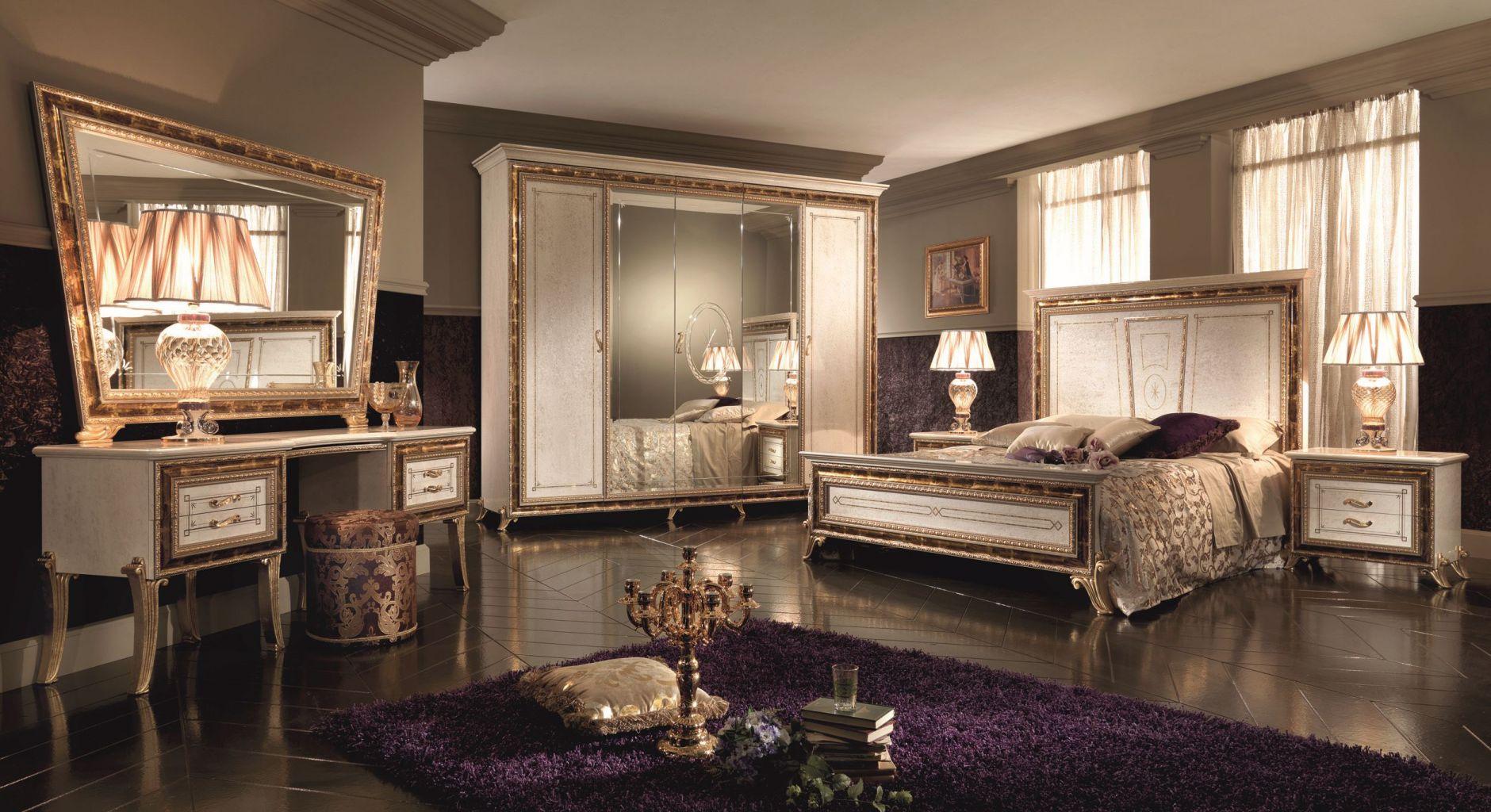 Klassische Möbel - ARREDOCLASSIC RAFFAELLO Schlafzimmer SerieDie ...