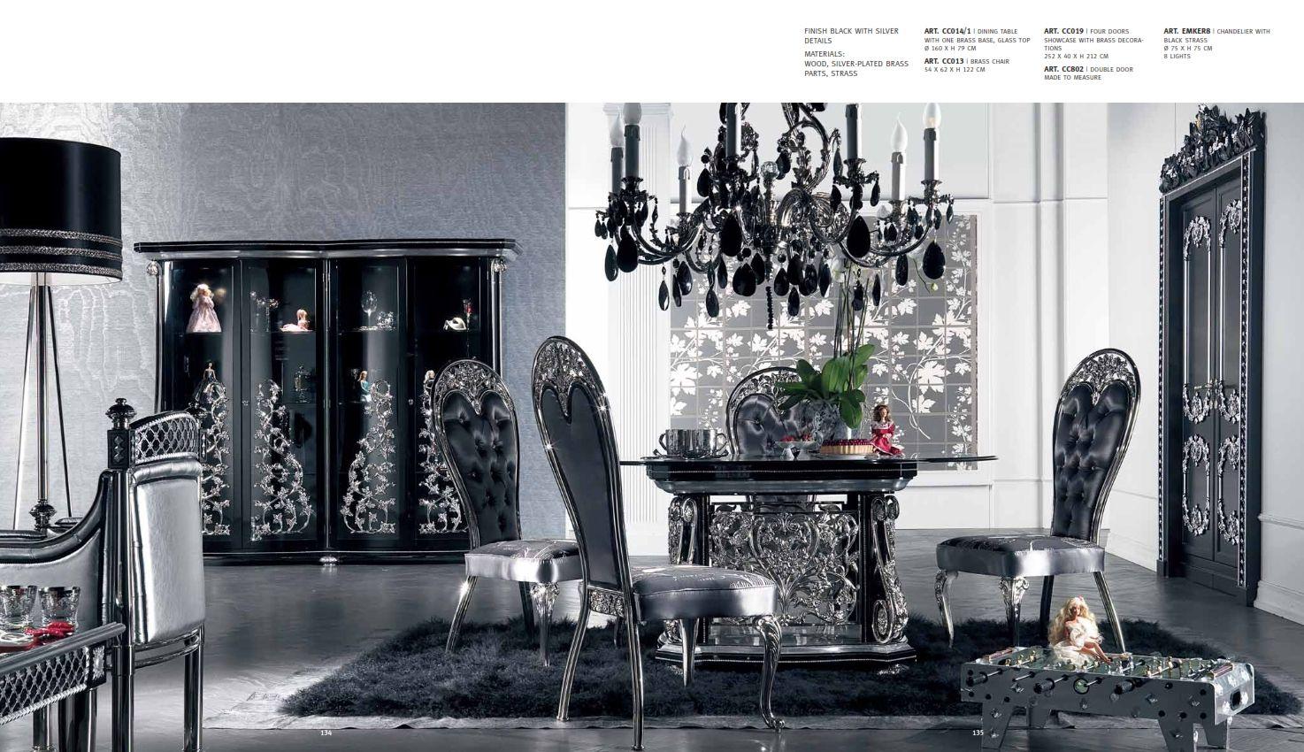 luxus m bel luxus esszimmer cappelletti coco seriedie m bel aus italien. Black Bedroom Furniture Sets. Home Design Ideas