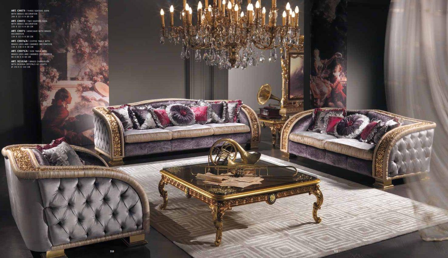 luxus m bel luxuri se sofas cappelletti serie charmedie m bel aus italien. Black Bedroom Furniture Sets. Home Design Ideas