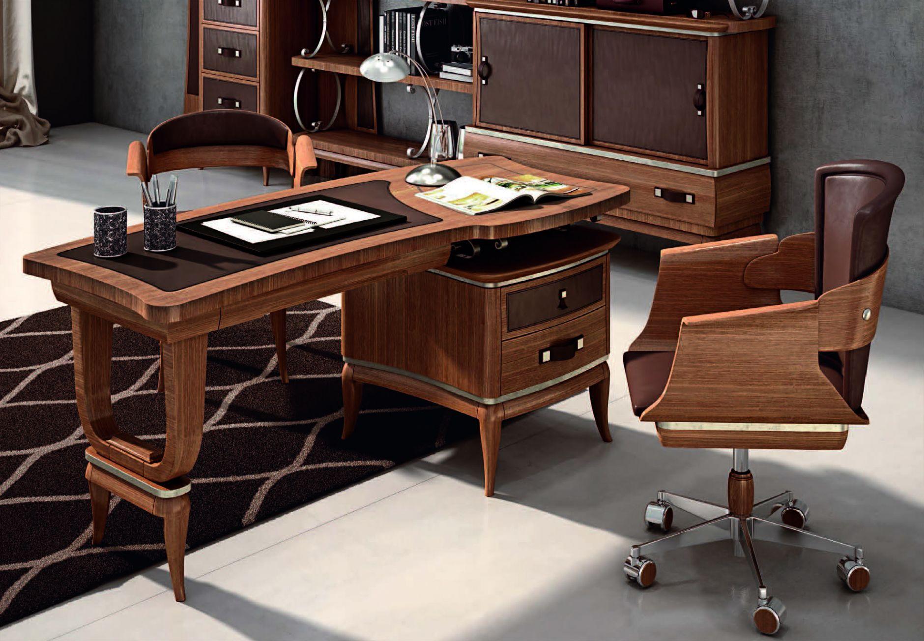 Luxueux mobilier de bureau série de pistolesi epoca de meubles