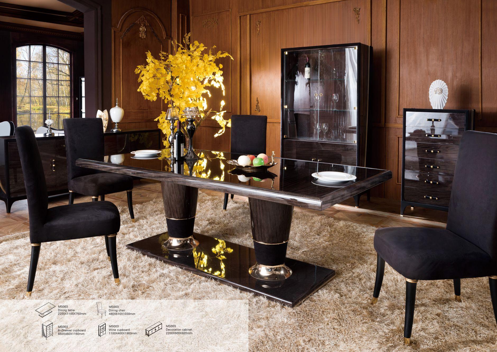Esszimmerstuhle Designer Esszimmer Serie Ms003die Mobel Aus Italien
