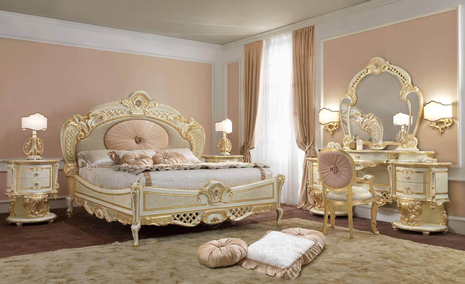 Meubles de luxe chambre de luxe pistolesi regina for Chambre 13 serie