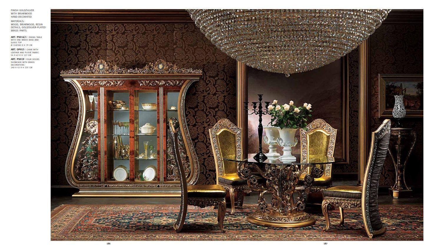 Luxus m bel luxus esszimmer serie cappelletti paschadie for Esszimmer luxus