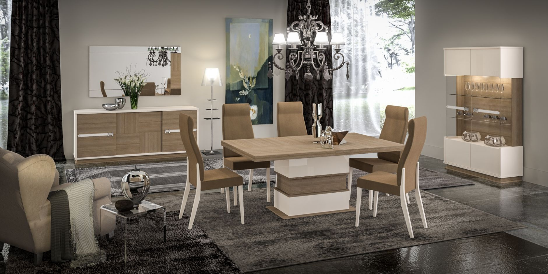 Dining Room STATUS EVOLUTION Series