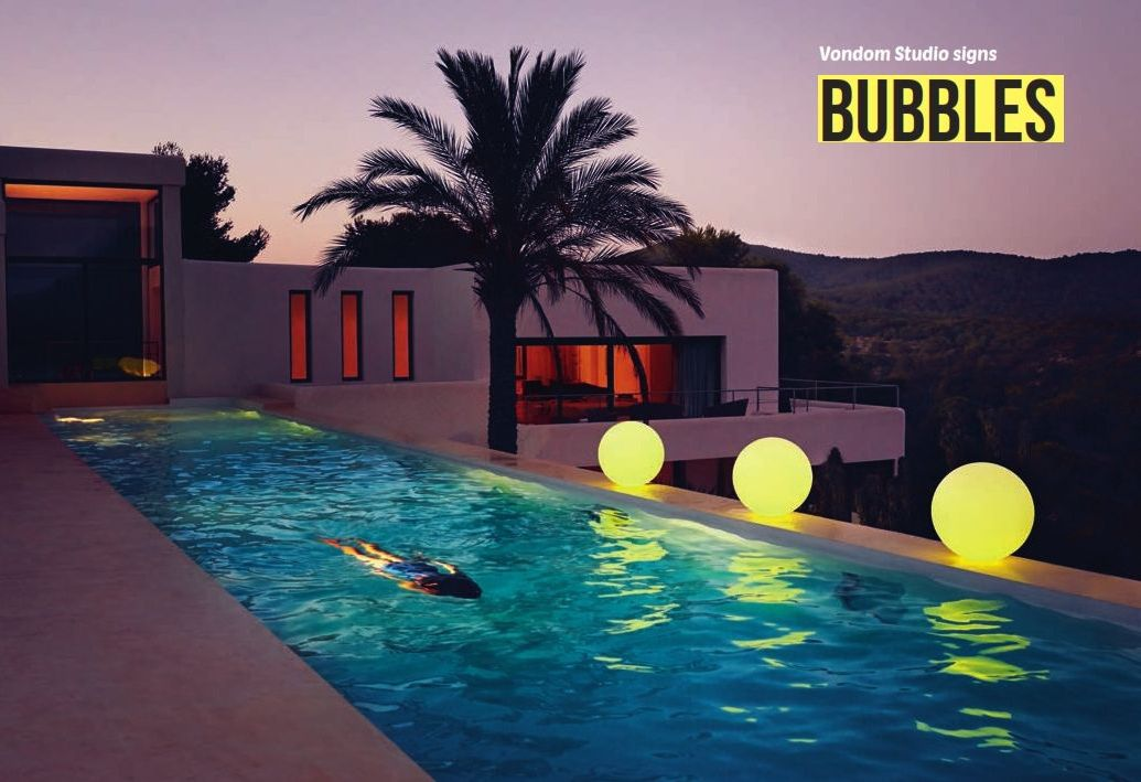 gartenm bel vondom bubbles garten lampen seriedie m bel aus italien. Black Bedroom Furniture Sets. Home Design Ideas