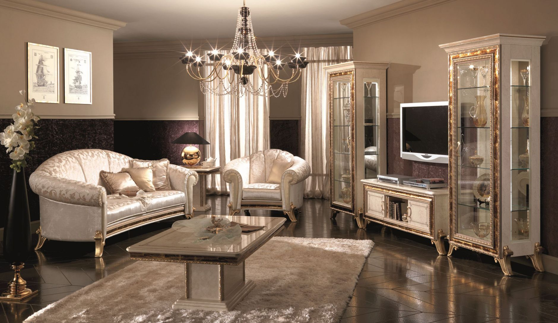 Klassische Möbel - ARREDOCLASSIC RAFFAELLO MöbelserieDie Möbel aus ...