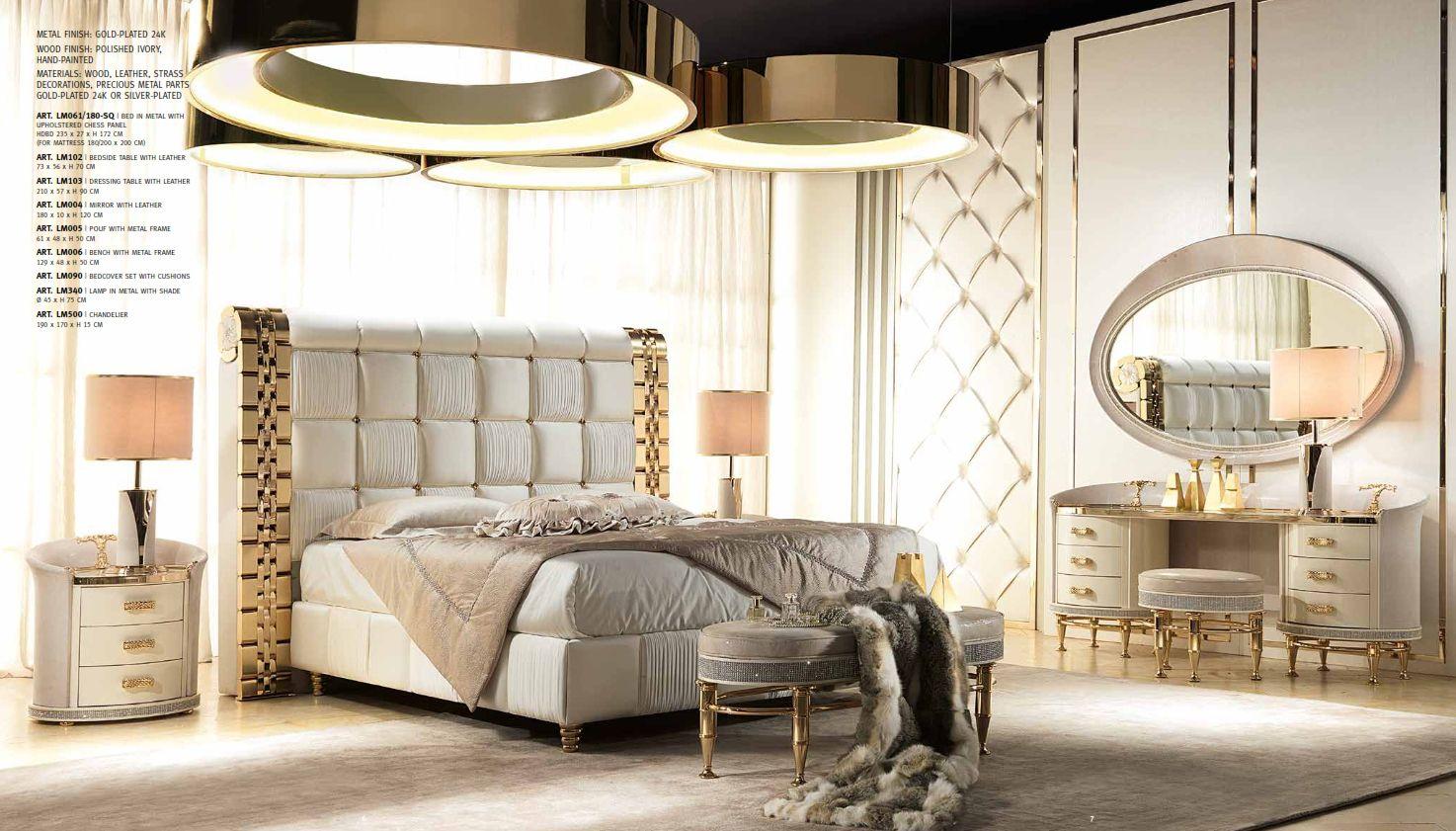 Luxus-Möbel - Luxus Schlafzimmer Serie CAPPELLETTI LILIUMDie Möbel ...