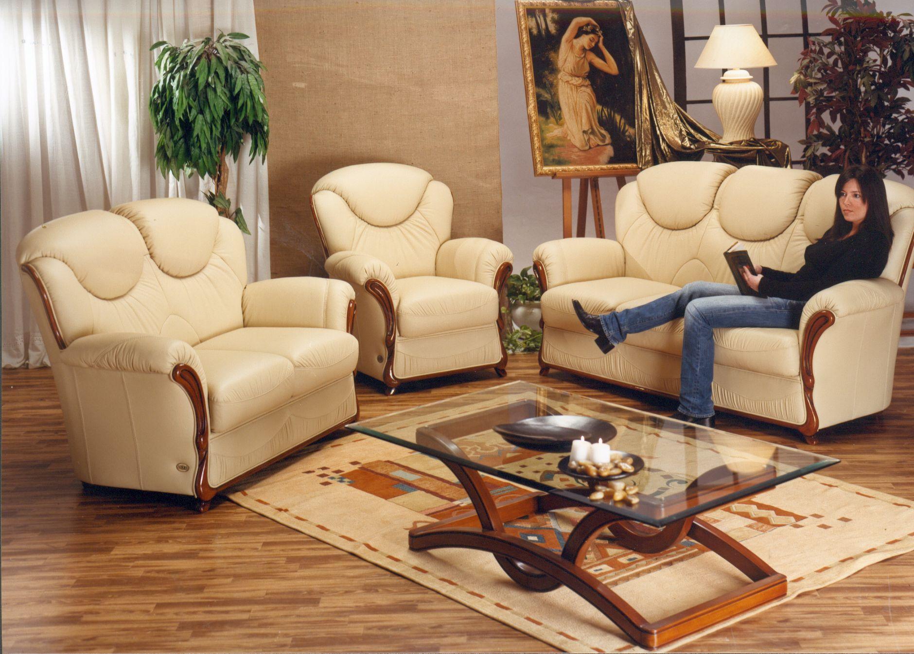 VIP-sofas - VIP-Sofas Nieri Divani ELENA ModellDie Möbel aus Italien