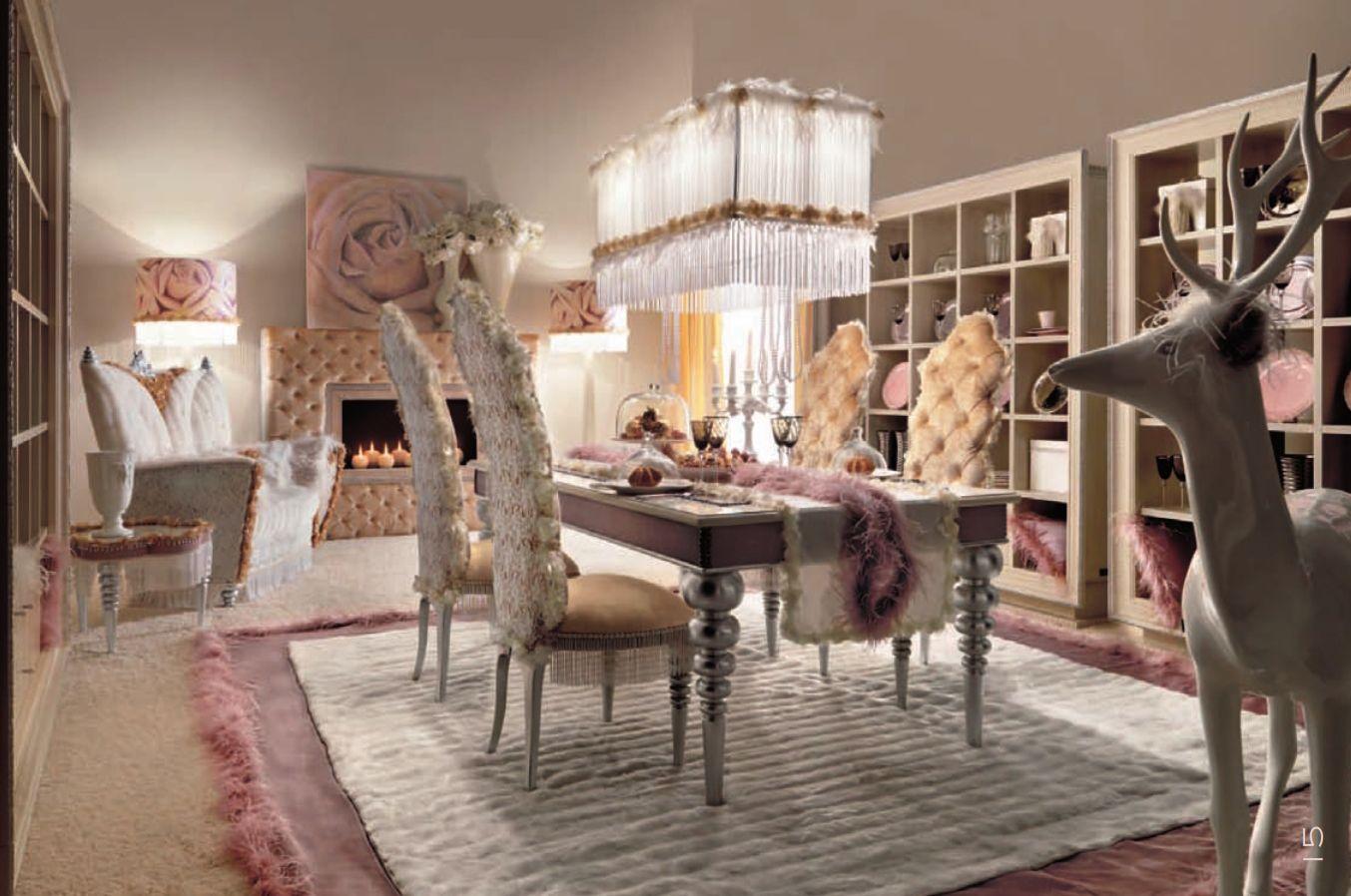 luxus-möbel - luxus esszimmer alta moda schicke seriedie möbel aus