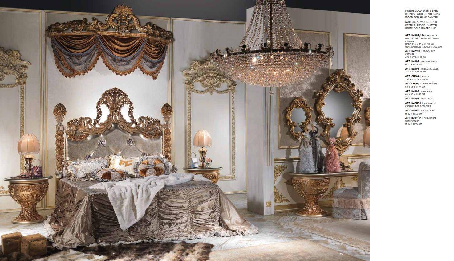 Luxus möbel   luxus schlafzimmer cappelletti imperial seriedie ...