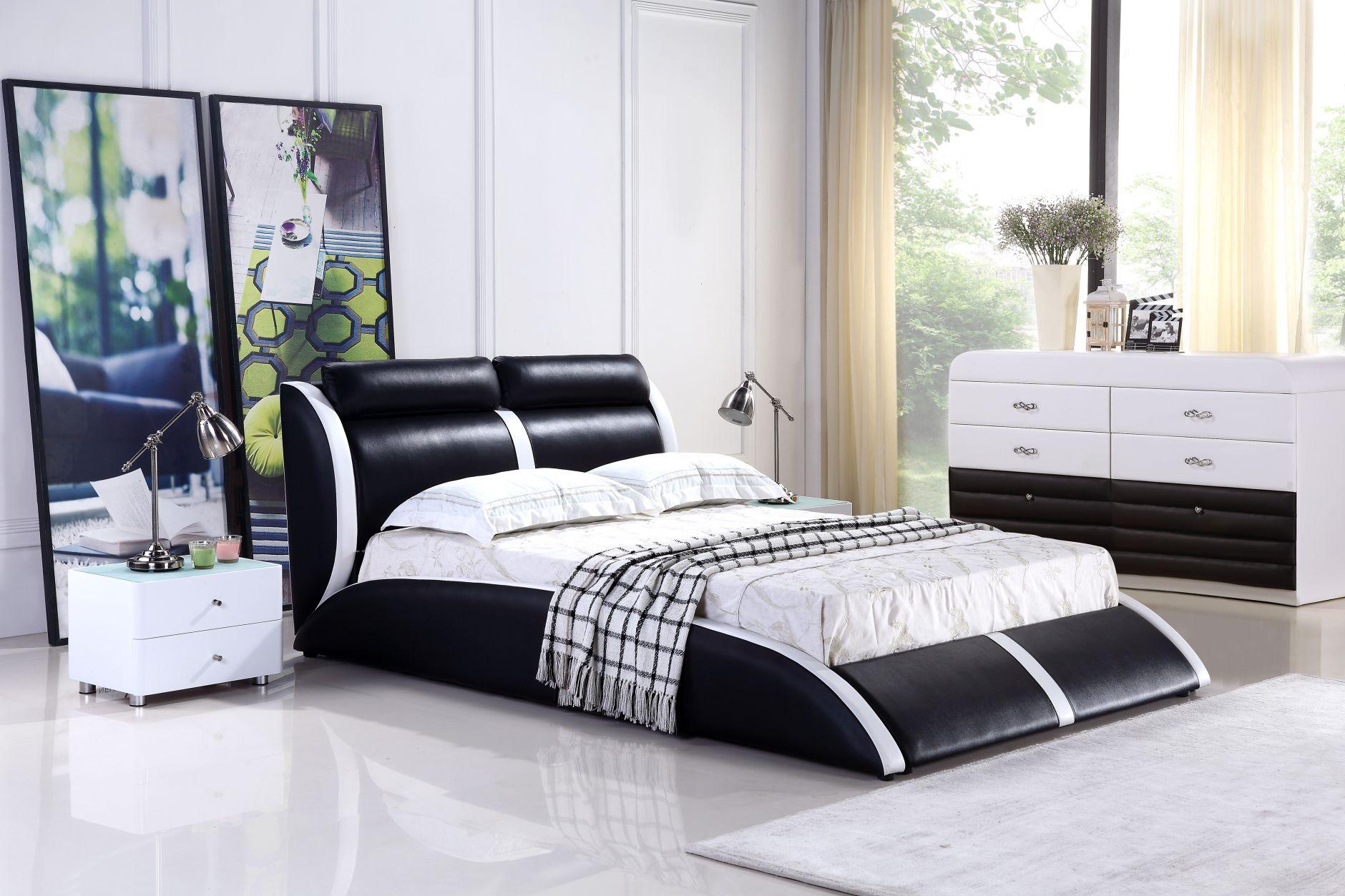 Free chambre coucher de cuir modle b with chambre a for Chambre a coucher pas chere