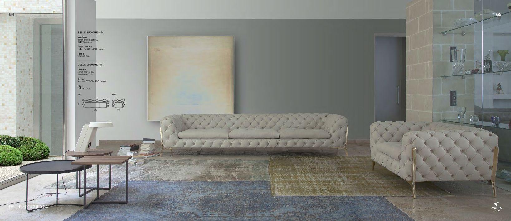 Italian sofas upholstered furniture calia italia belle for Italienische couch