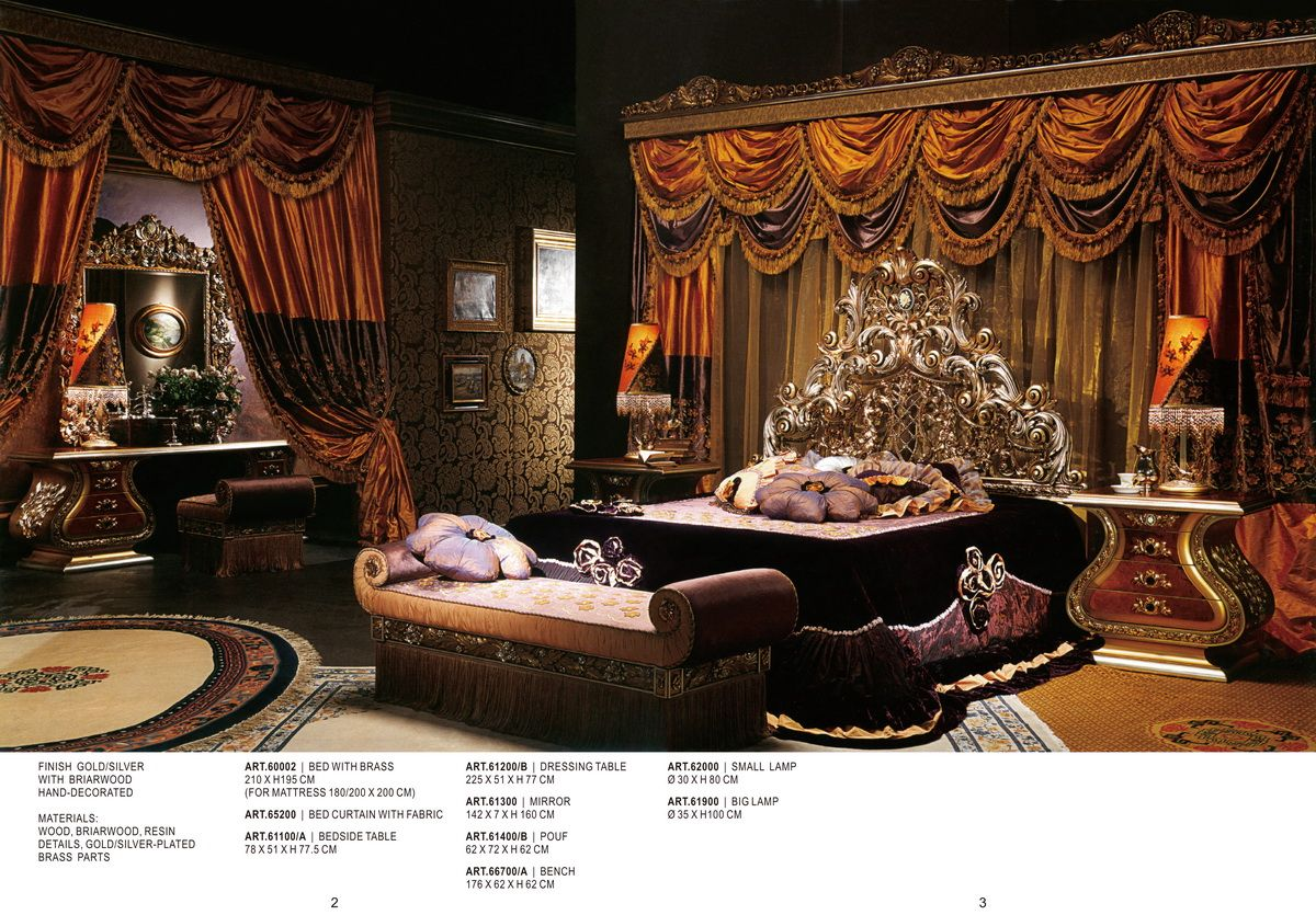 VERSACE FURNITURE   Bedroom Set Series 60000Furniture From Italy