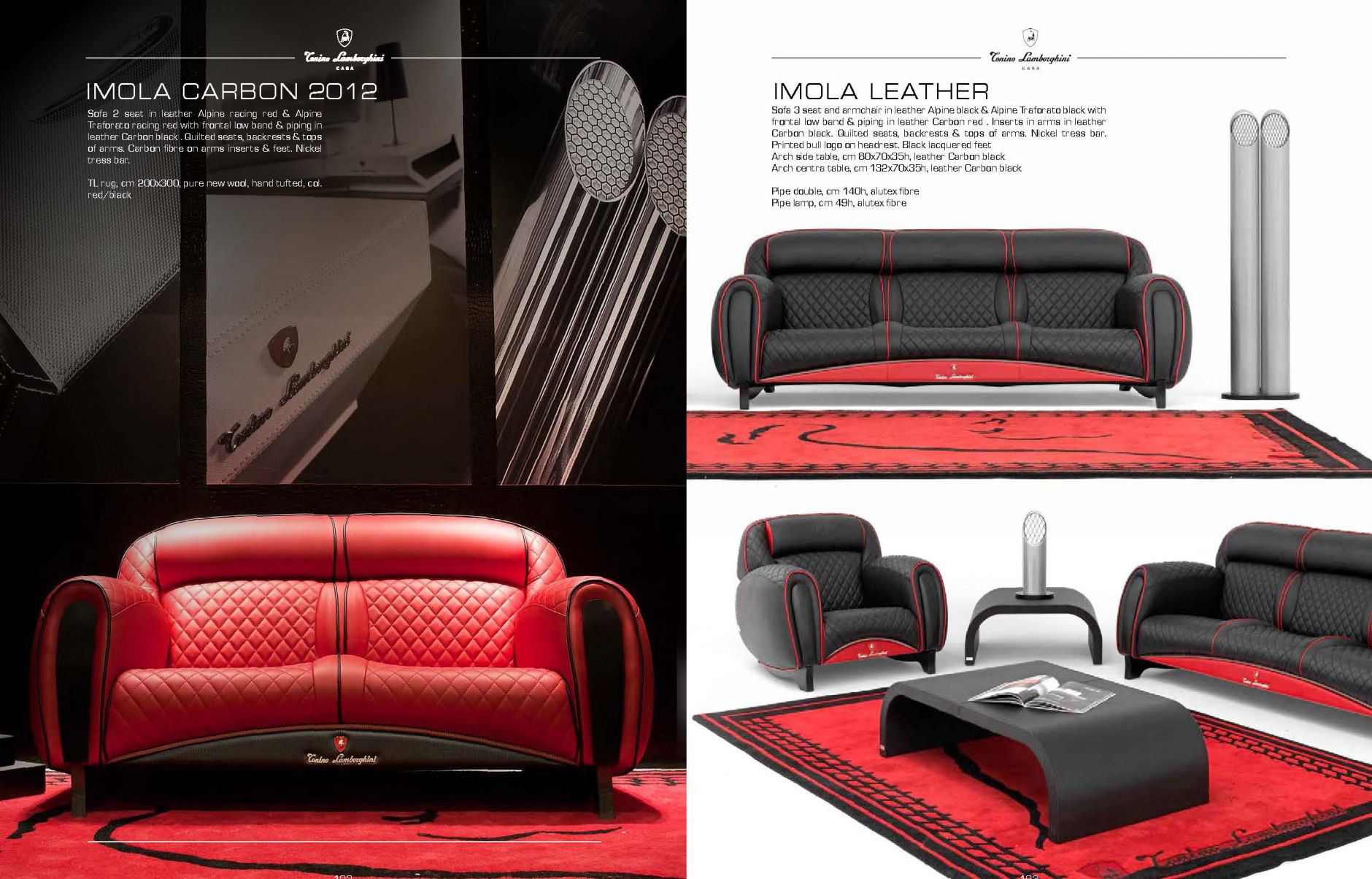 vip sofas luxus m bel serie imola carbondie m bel aus italien. Black Bedroom Furniture Sets. Home Design Ideas