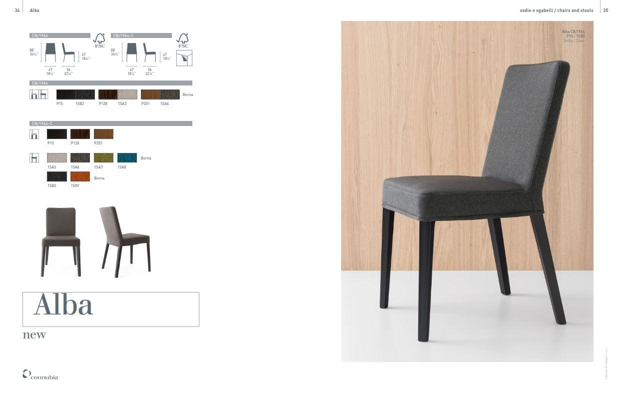 Chaises de salle à manger - Calligaris chaise de ALBA Trapezaren