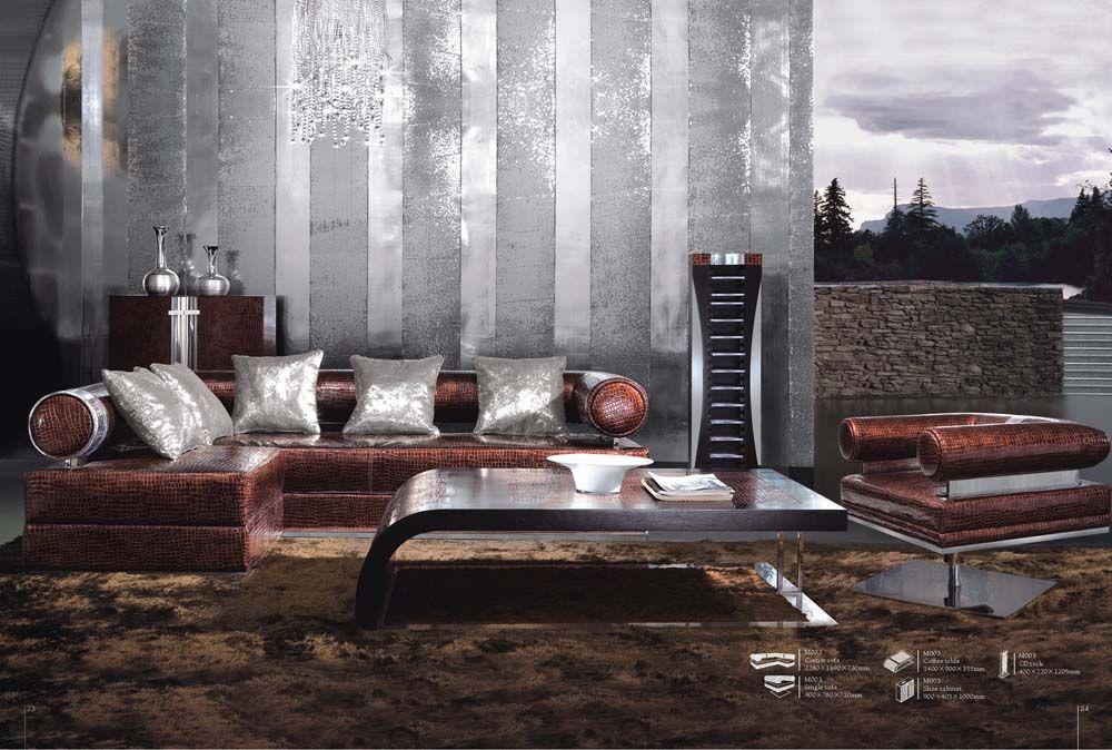 Designer-Möbel - Designer Schnittsofa Serie M003Die Möbel aus Italien