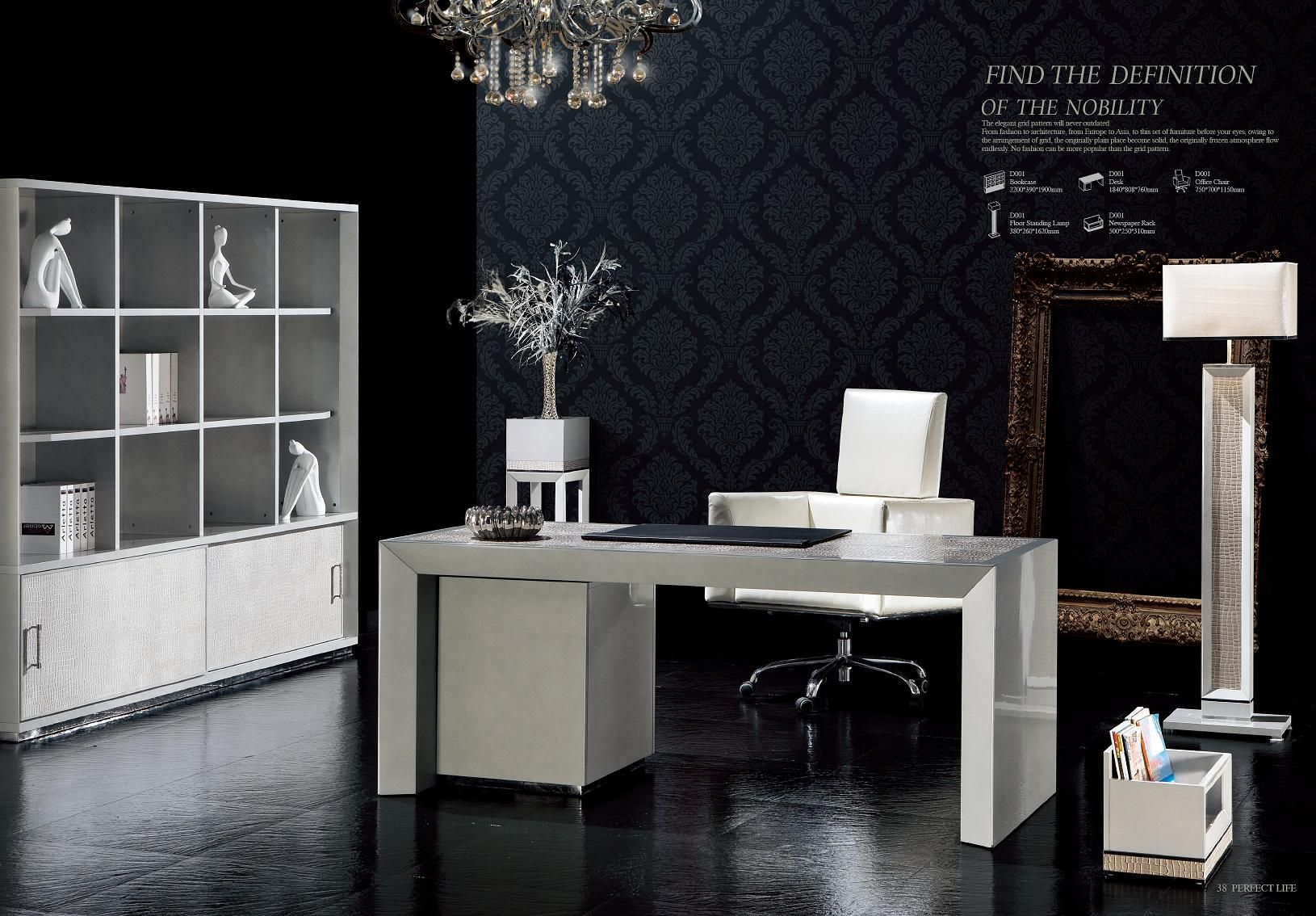chaises de bureau mobilier de bureau design s rie d001les meubles de l 39 italie. Black Bedroom Furniture Sets. Home Design Ideas