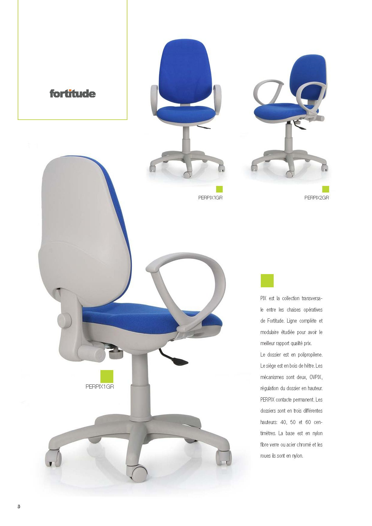 Bürostühle - Büro-Stuhl-Business-SerieDie Möbel aus Italien