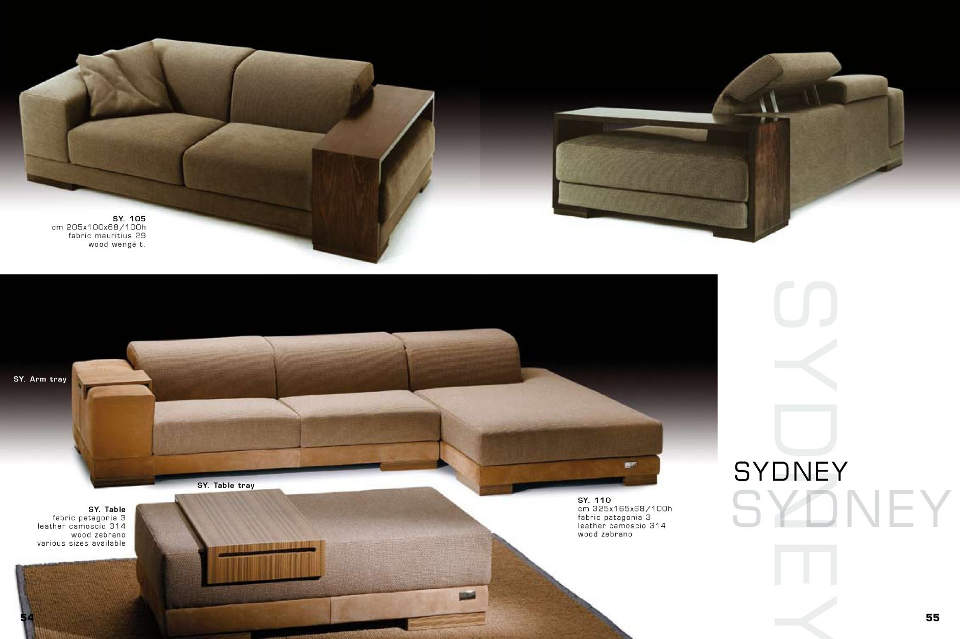 Sectional Sofa Sydneyfurniture From Italy