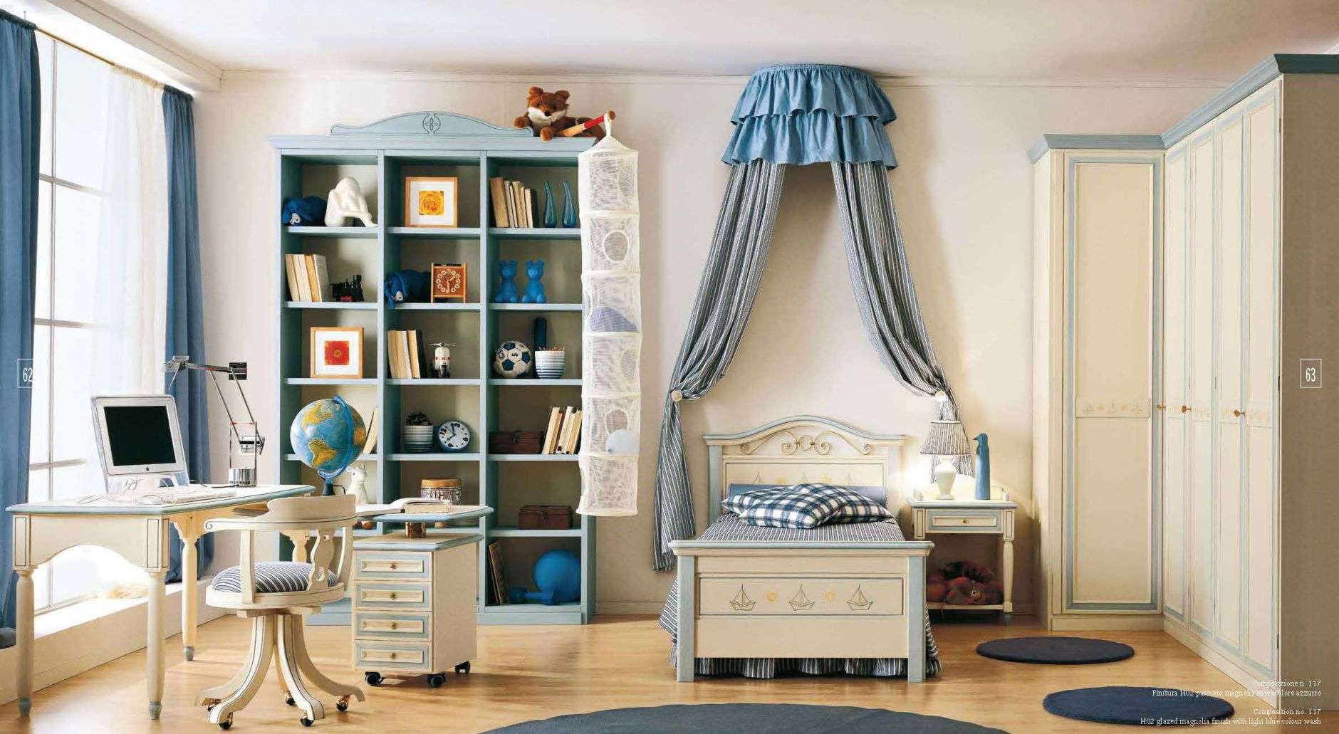 kinderm bel kinder schlafzimmer ferretti ferretti zusammensetzung 117die m bel aus italien. Black Bedroom Furniture Sets. Home Design Ideas
