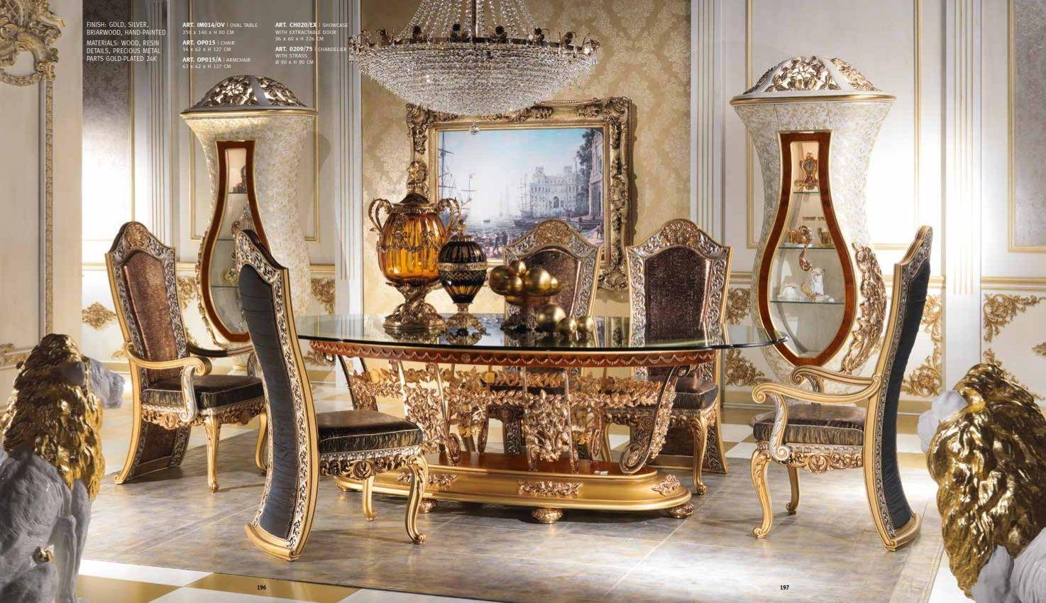 Meubles de luxe salle manger de luxe cappelletti imperial seriesles meubles de l 39 italie - Salle a manger de luxe ...