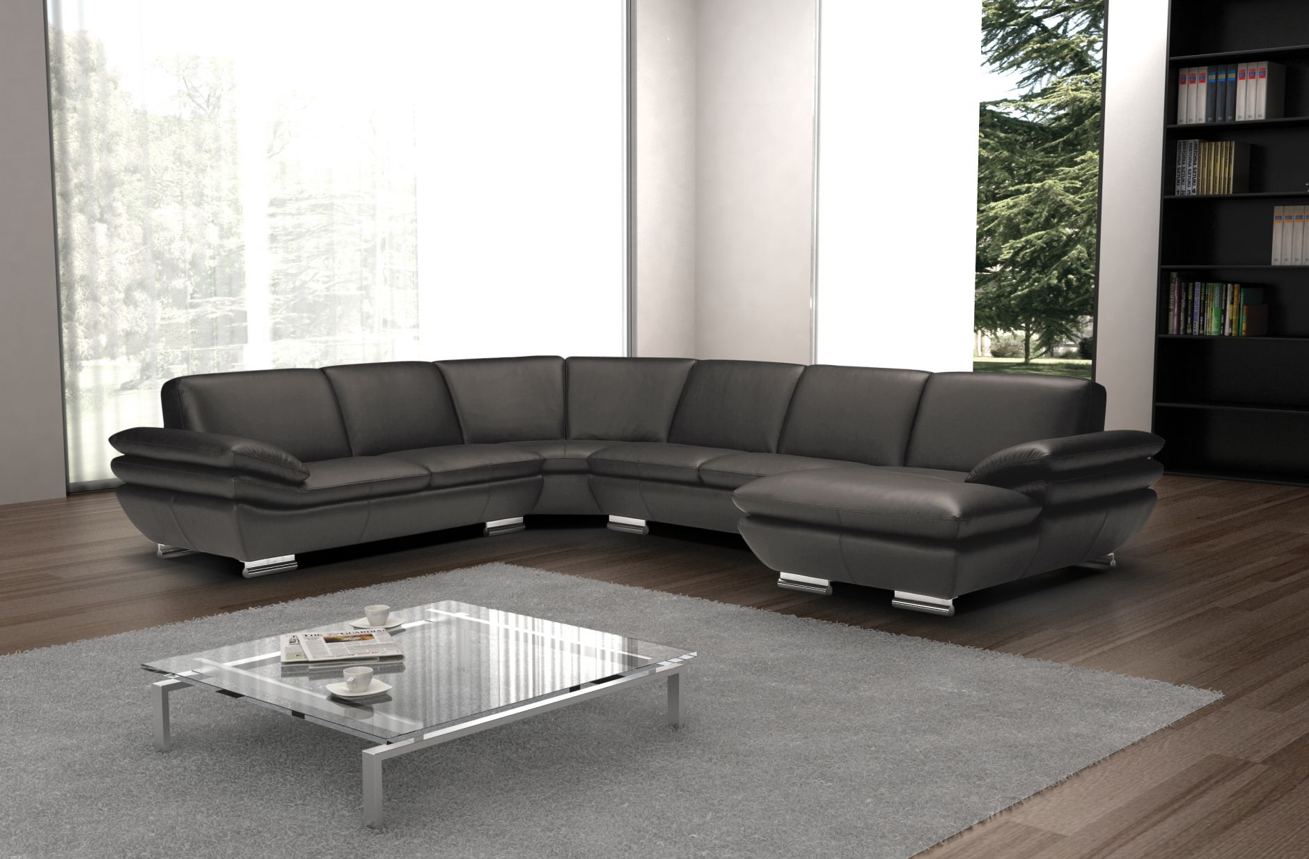 sectional sofas sectional sofa calia italia mood 391 seriesfurniture from italy. Black Bedroom Furniture Sets. Home Design Ideas