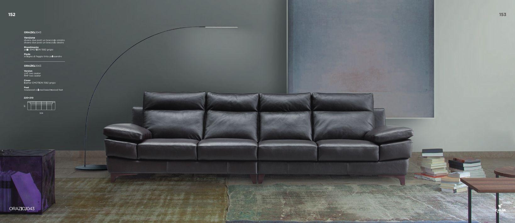 italienische sofas sofa calia italia serie orazio 1043die m bel aus italien. Black Bedroom Furniture Sets. Home Design Ideas