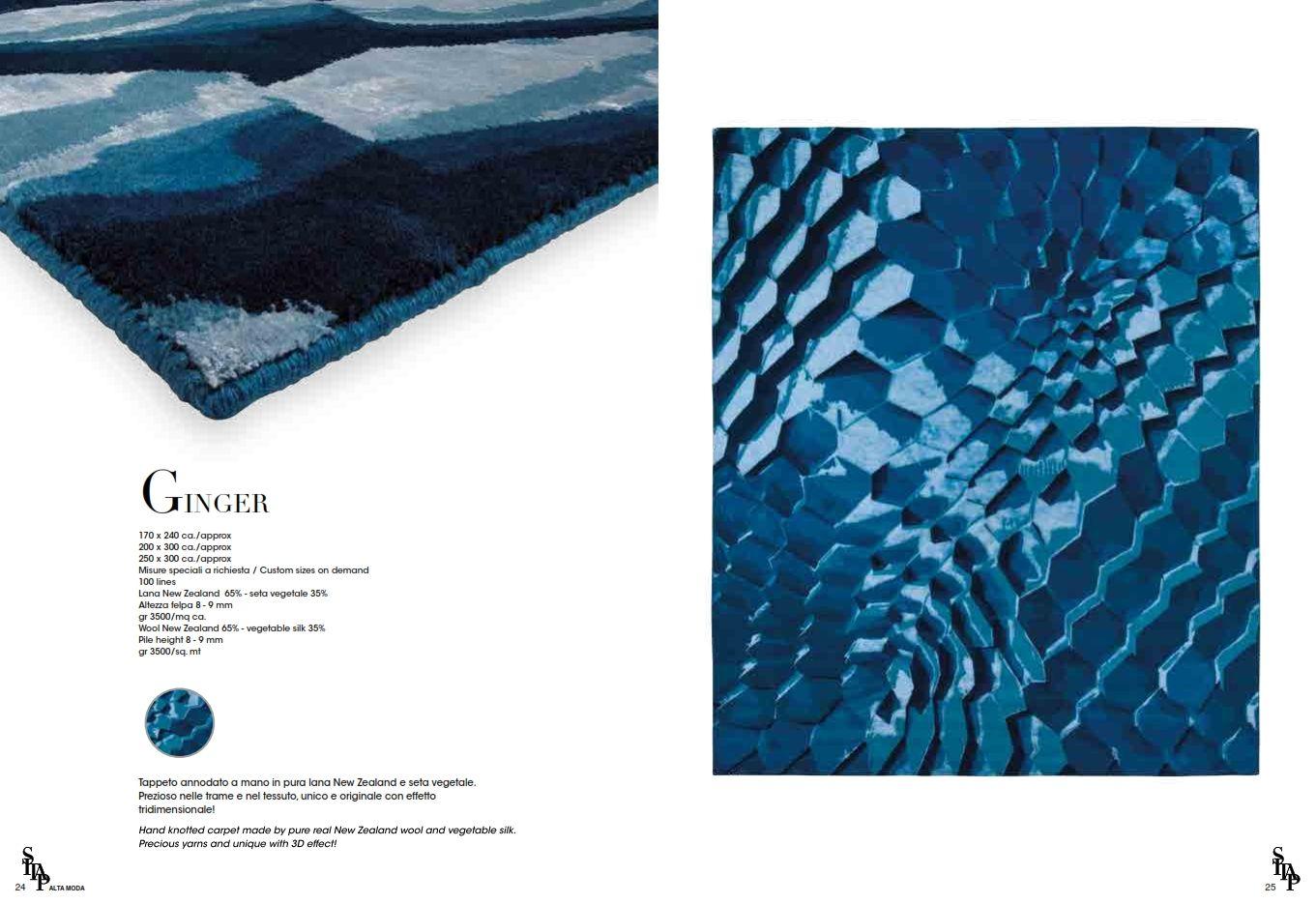 Teppiche  Italienische Teppich Sitap IngwerSerieDie