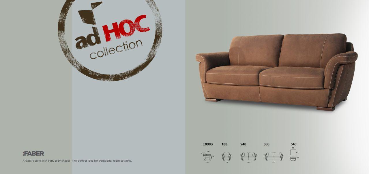 Polstermöbel - Sofa Calia Italia Serie FABERDie Möbel aus Italien