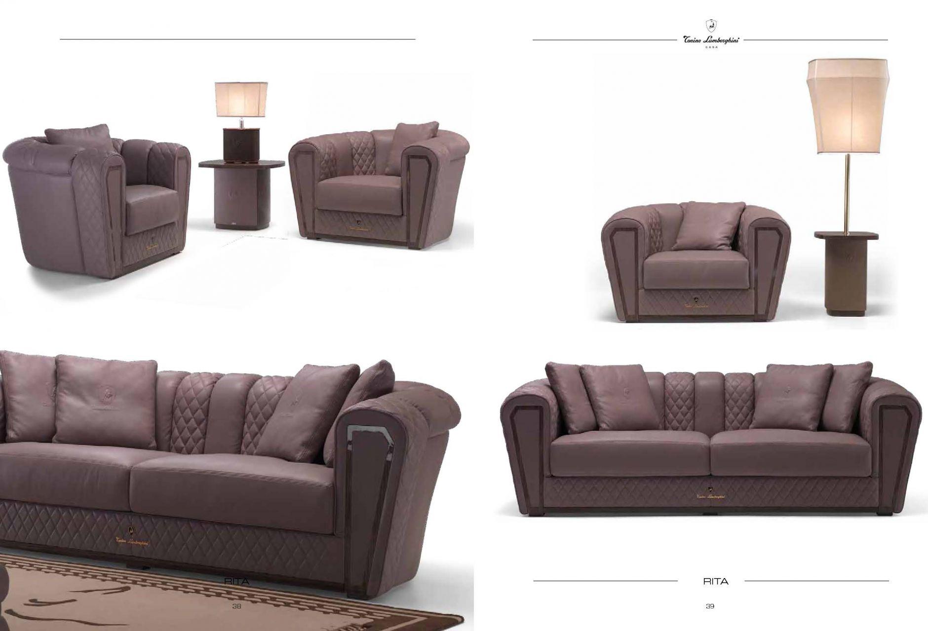 vip sofas luxus m bel serie ritadie m bel aus italien. Black Bedroom Furniture Sets. Home Design Ideas
