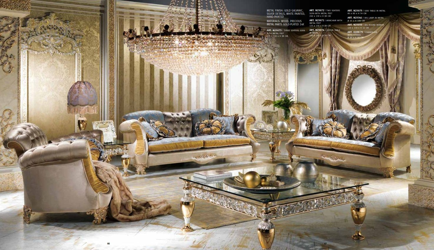 Luxurious Furniture Luxury Upholstered Furniture