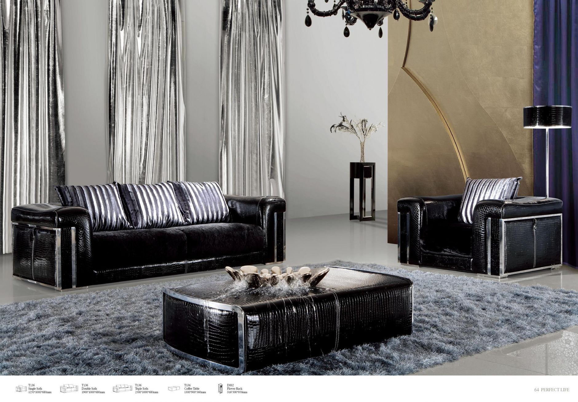 designer m bel designer sofas serie tiffanydie m bel aus italien. Black Bedroom Furniture Sets. Home Design Ideas