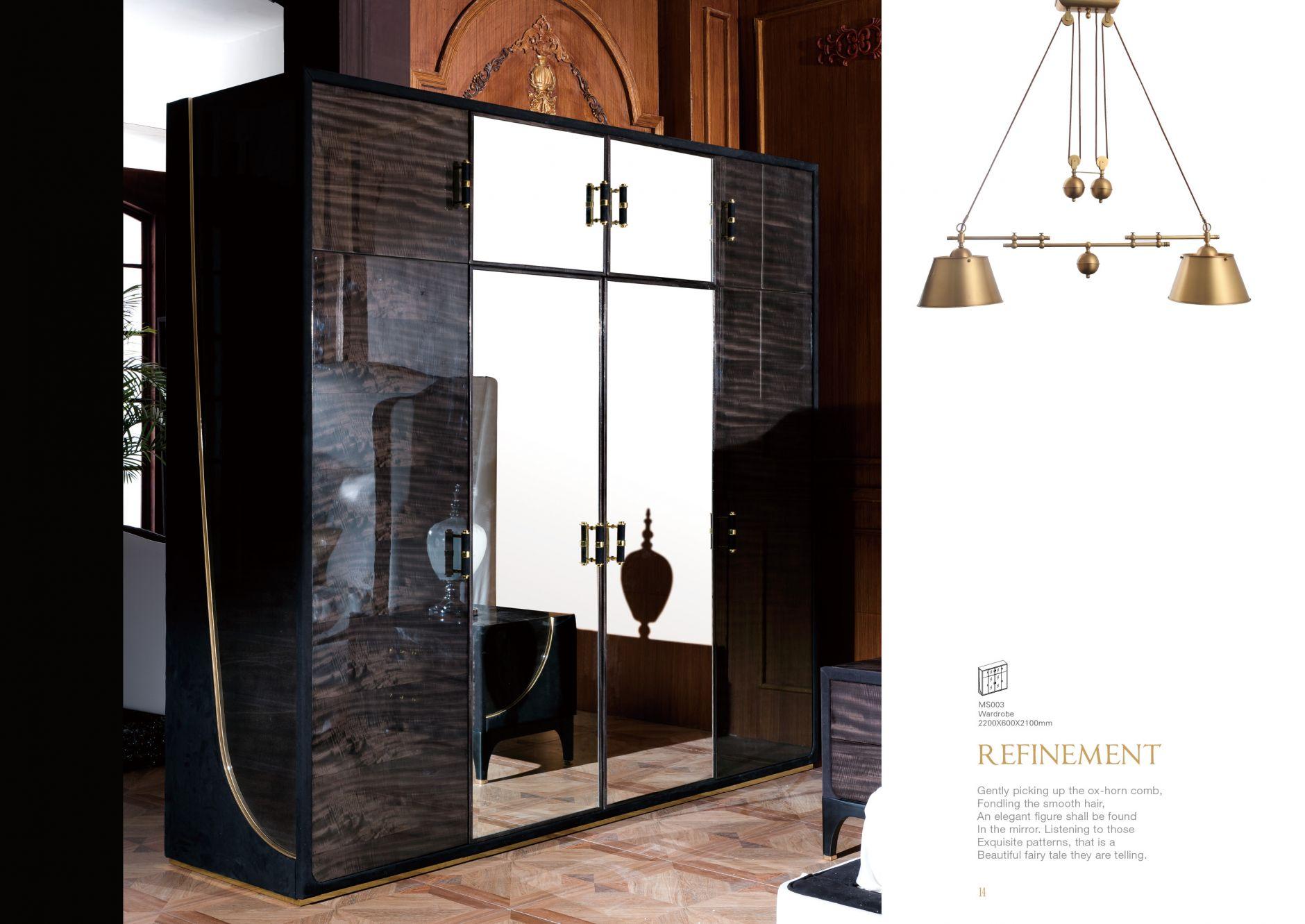 Mobilier design chambre design s rie ms003les meubles de for Mobilier chambre design