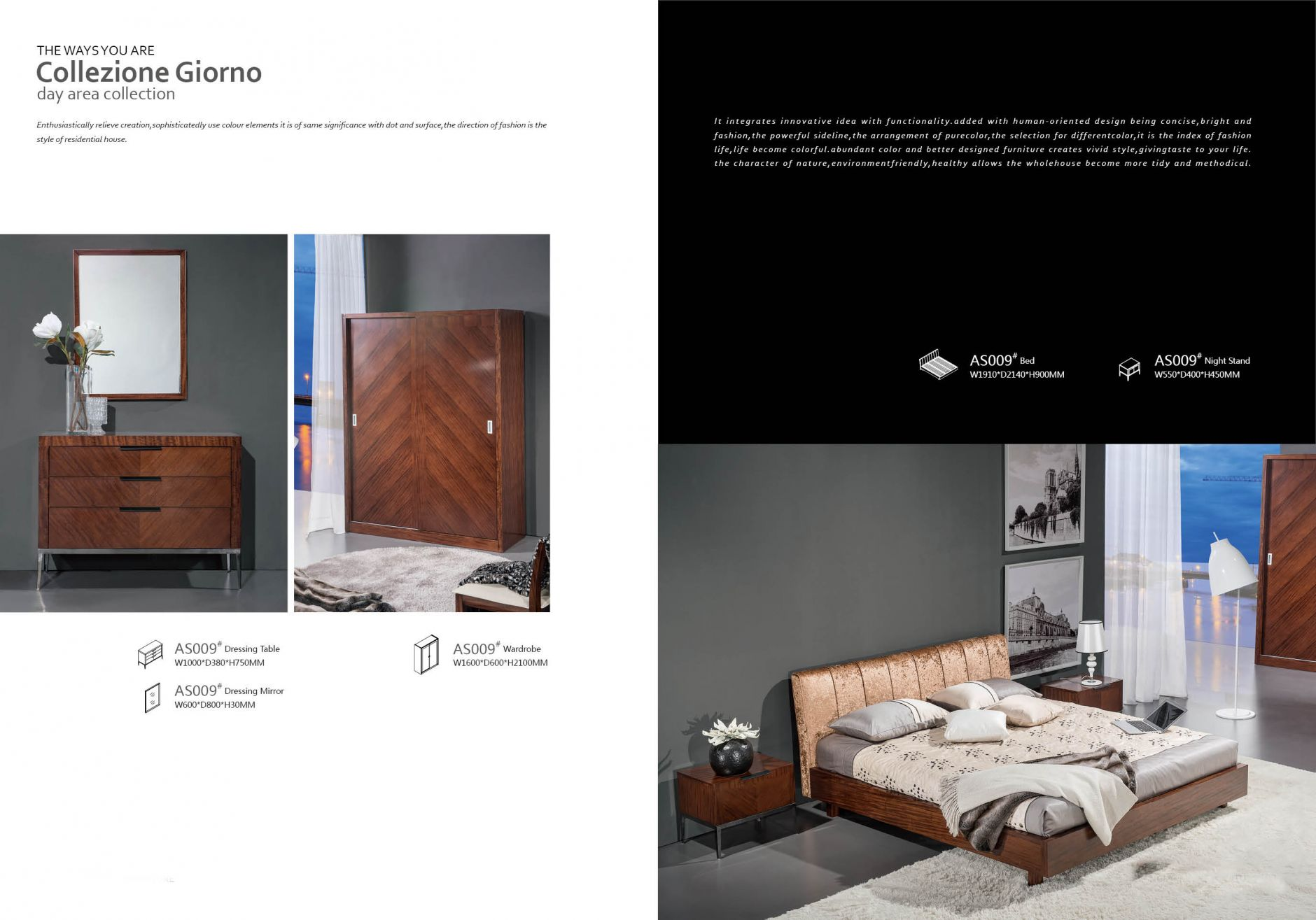 designer m bel schlafzimmer serie as009die m bel aus italien. Black Bedroom Furniture Sets. Home Design Ideas