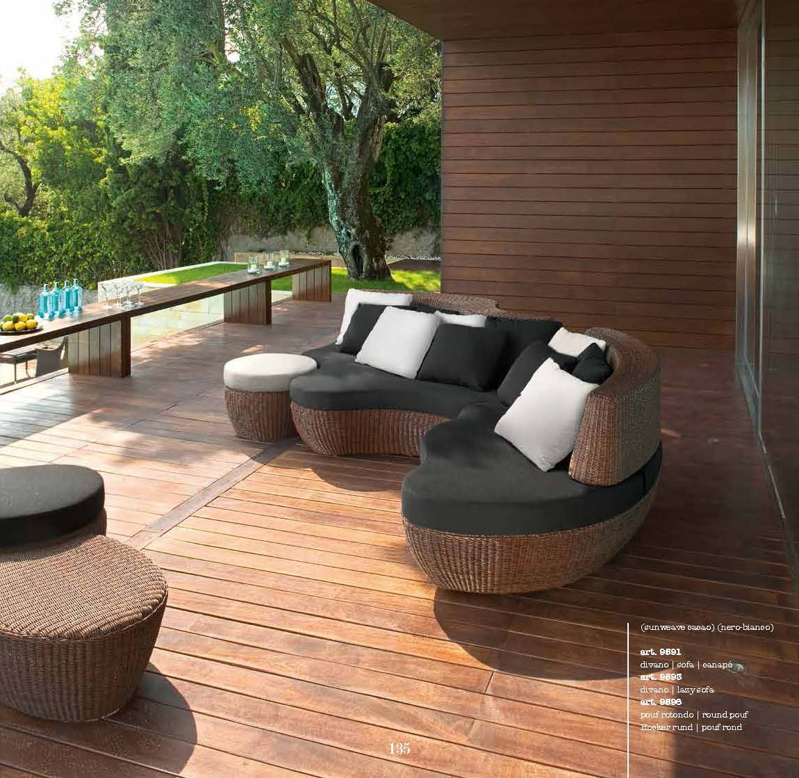 gartenm bel gartenm bel roberti serie les ilesdie m bel aus italien. Black Bedroom Furniture Sets. Home Design Ideas