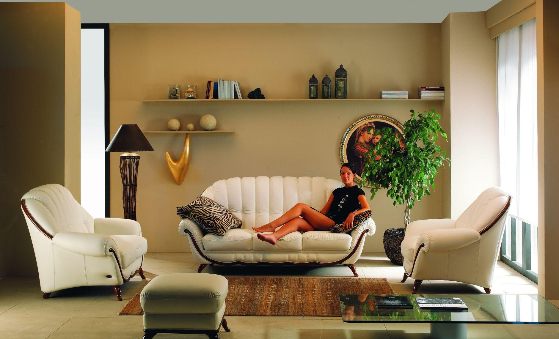 VIP-sofas - VIP-Modell Nieri Divani Möbel POMPEIDie Möbel aus Italien