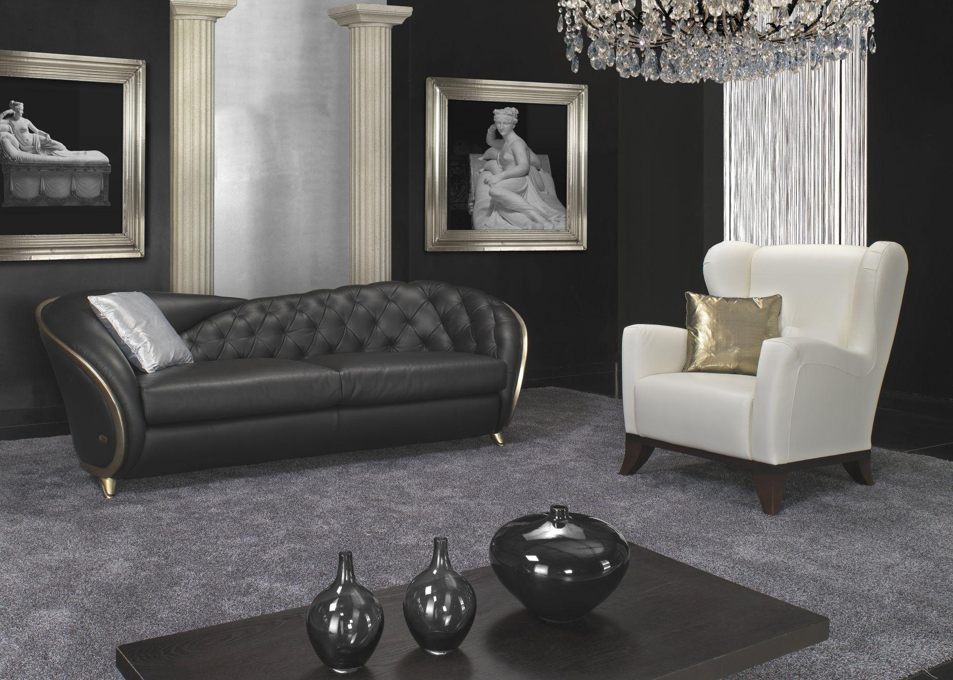 VIP-sofas - Nieri Divani Möbel Modell RomeoDie Möbel aus Italien