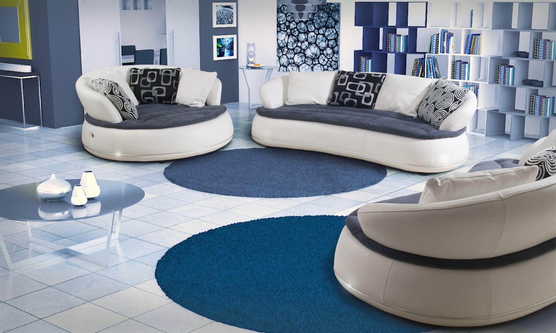 VIP-sofas - Nieri Divani Möbelserie ESPACEDie Möbel aus Italien