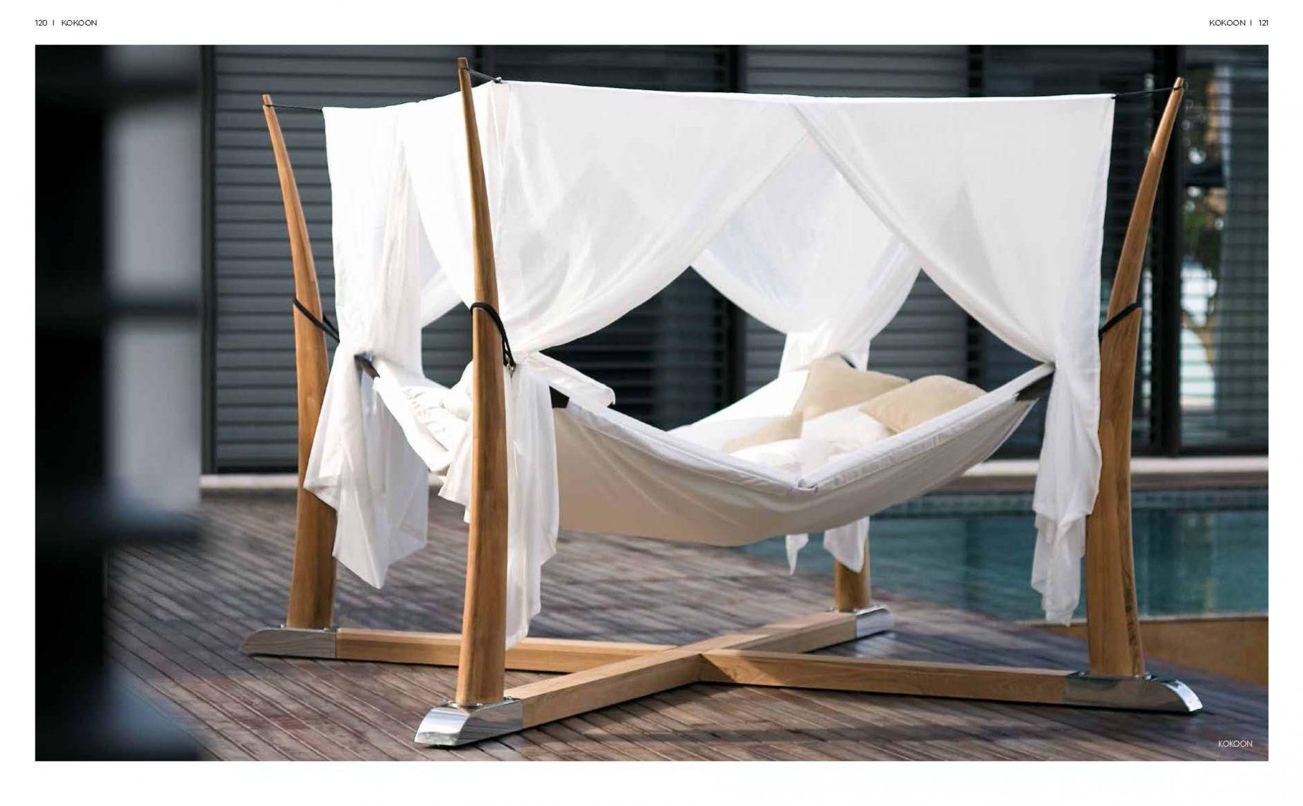 lits de plage lit hamac rb kokoonles meubles de l 39 italie. Black Bedroom Furniture Sets. Home Design Ideas