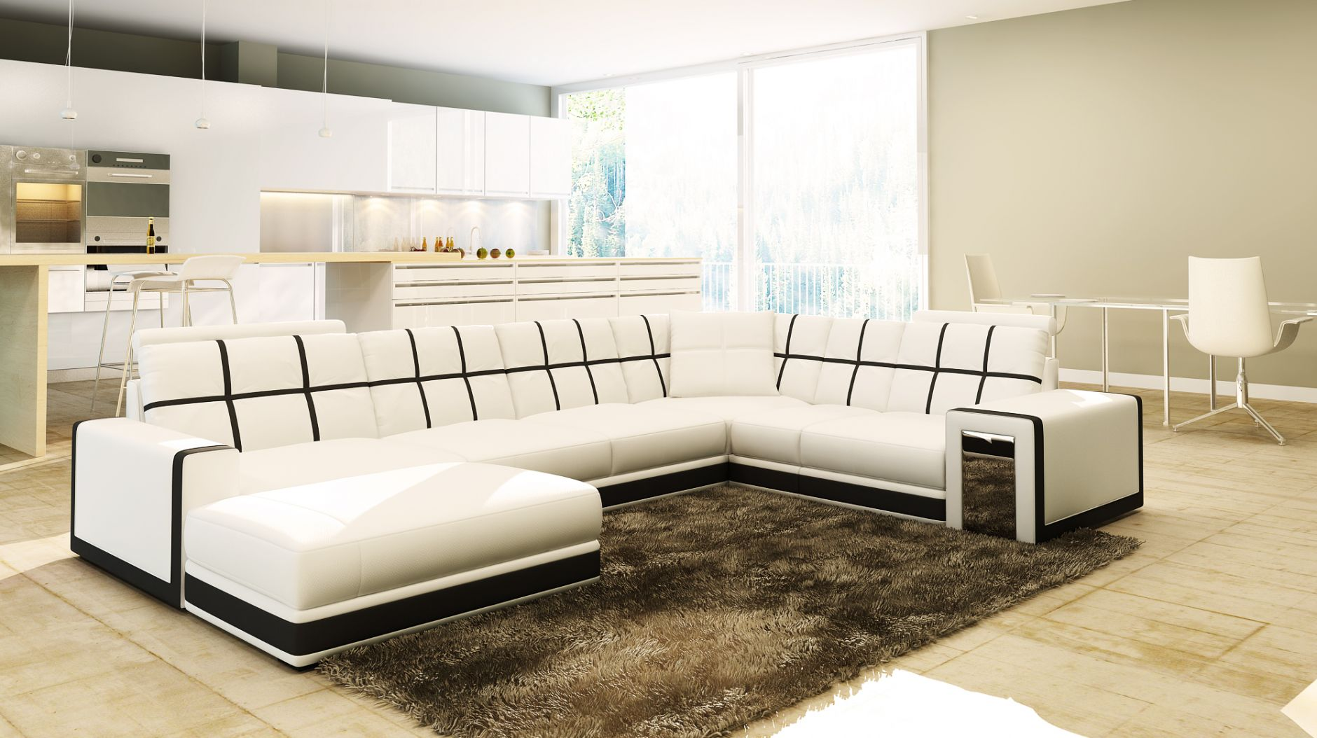 schnittsofa schnittsofa modell 5078die m bel aus italien. Black Bedroom Furniture Sets. Home Design Ideas