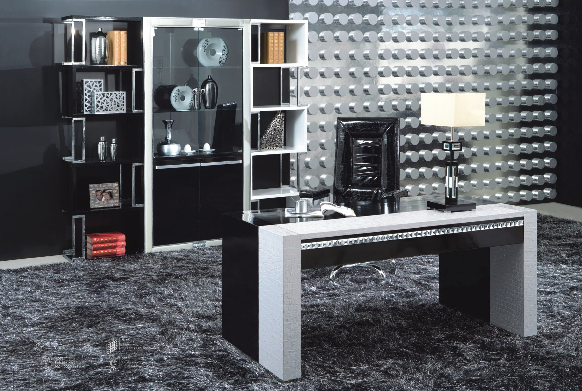 b rotische designer b ro m bel serie m001die m bel aus italien. Black Bedroom Furniture Sets. Home Design Ideas