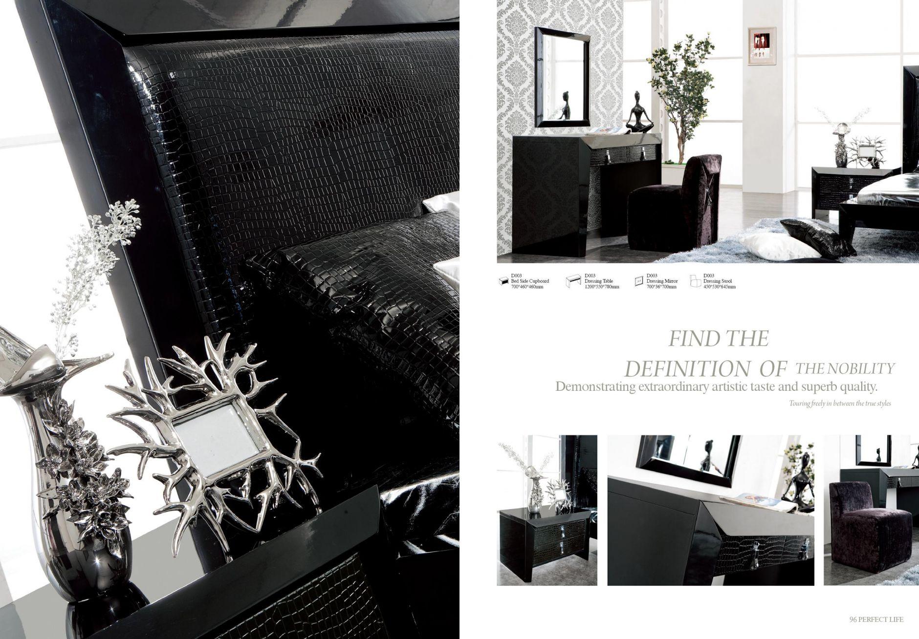 Mobilier design chambre design s rie d003les meubles de for Mobilier chambre design