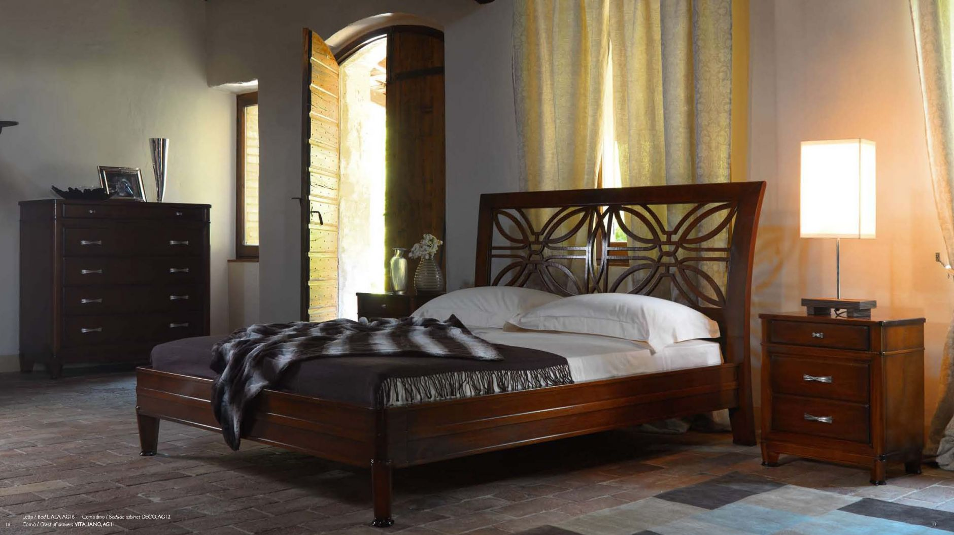 Schlafzimmer - Schlafzimmer Accademia del Mobile Serie VICTORIA ...