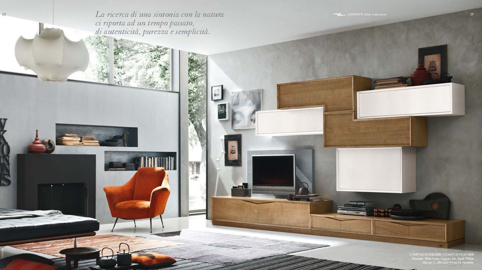 LIVING ROOM CABINETS - Living Room Composition 6 Accademia del ...
