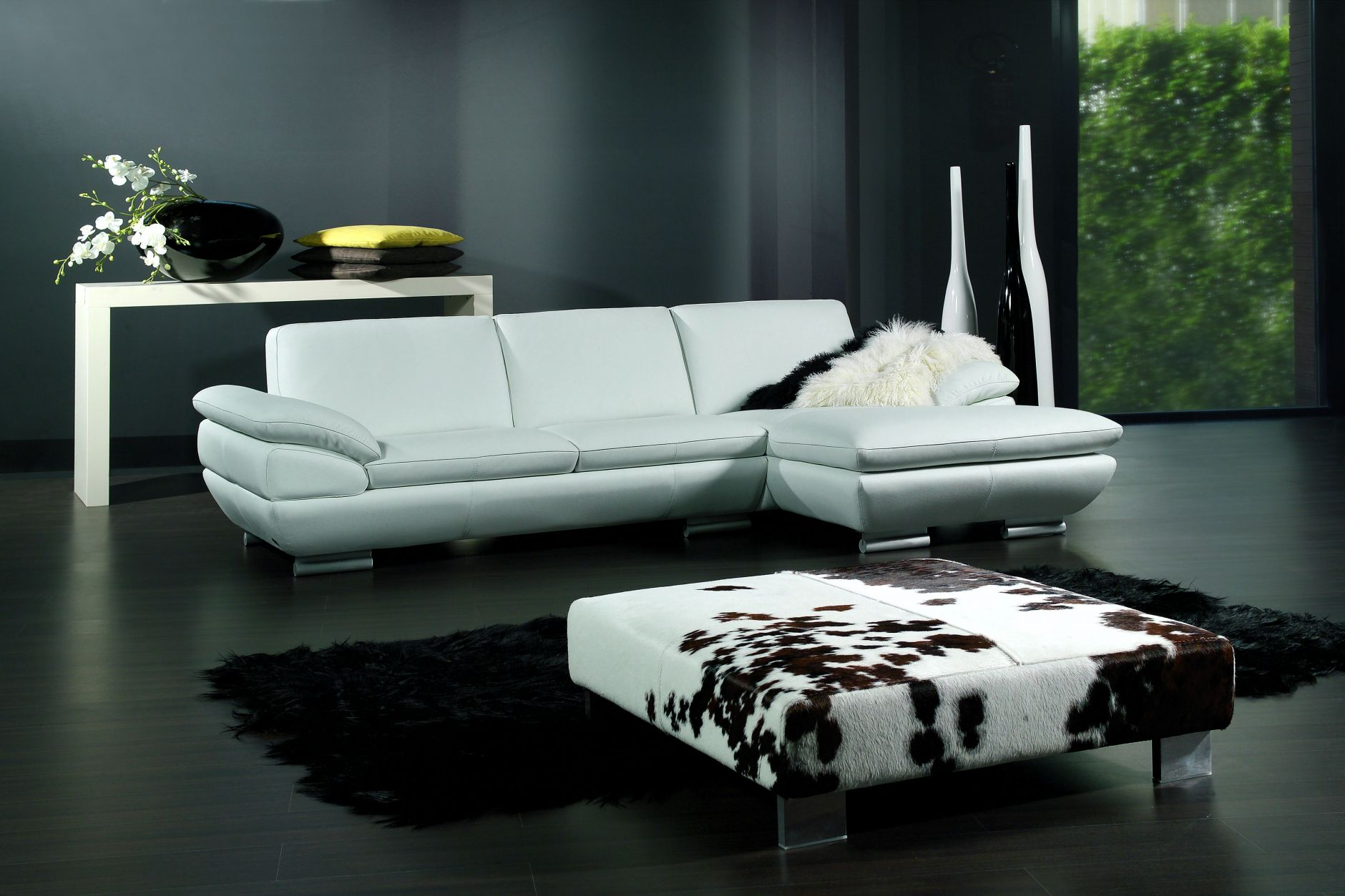 sectional sofas sectional sofa calia italia glamour 269. Black Bedroom Furniture Sets. Home Design Ideas